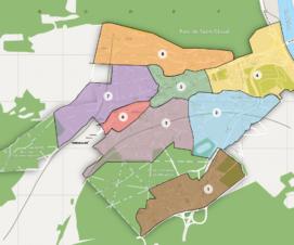 Les quartiers de Sèvres