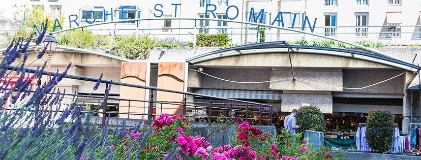 Le marché Saint-Romain est ouvert le samedi 1er mai 2021
