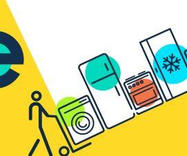 Vos gros appareils électroménagers récupérés chez vous