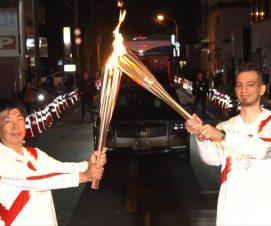 Un Sévrien porte la flamme olympique !