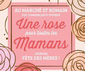 Une rose pour toutes les mamans !