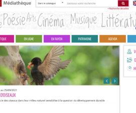 La médiathèque a lancé son nouveau portail documentaire